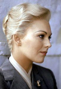 L'actrice américaine Kim Novak