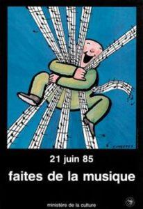 Affiche Faites de la musique 1985