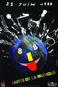 Affiche Faites de la musique 1988