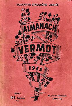 Almanach Vermot 1955