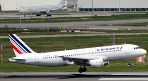 L'atterrissage d'un avion
