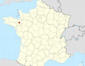 Localisation de cesson-Sévigné (35)