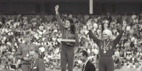 La championne d'athlétisme française Colette Besson
