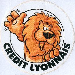 Publicité du Crédit Lyonnais (années 1980)