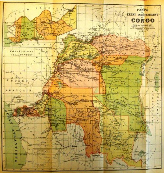 L'EIC (Etat Indépendant du Congo)