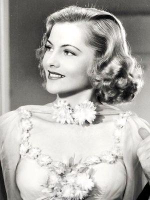 L'actrice américaine Joan Fontaine