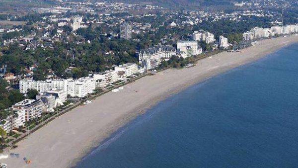 Front de mer de la Baule-Escoublac (44)