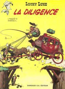 """La diligence"", 32e album des aventures de ""Lucky-Luke"" (avril 1968)"