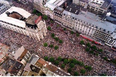 La marche blanche du 20 octobre 1996