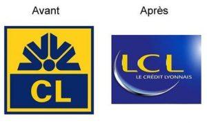 Nouveau nom, nouveau logo pour le Crédit Lyonnais, le 29 août 2005