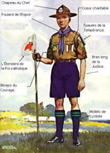 Un scout et ses valeurs