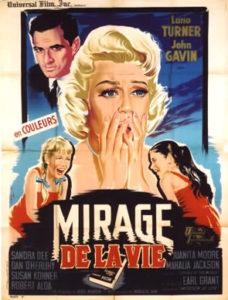 """Affiche du film """"Mirage de la vie"""""""