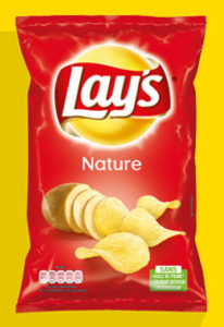 Paquet de chips nature Lay's