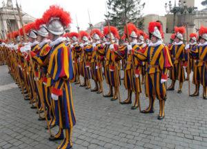 Garde suisse de la cité du Vatican