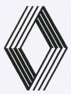 Logo Renault 1972