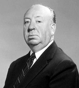 Le réalisateur britannique Alfred Hitchcock