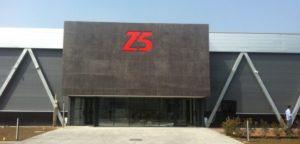 Façade du Z5 d'Aix-en-Provence (13)