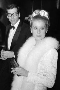Catherine Deneuve et Roger Vadim