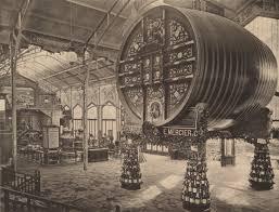 Le foudre Mercier à l'Exposition universelle de Paris (75) de 1889.