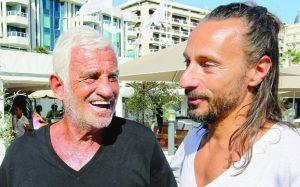 Jean-Paul Belmondo et Bob Sinclar