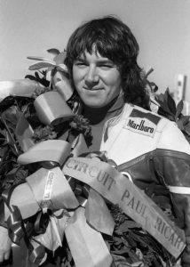 Christian Estrosi, pilote motocycliste
