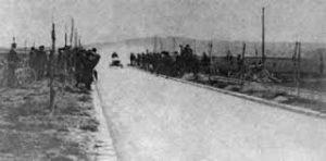 La ligne droite d'Achères (78)