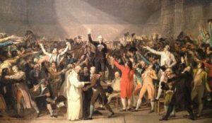 Le Serment du Jeu de Paume par le peintre Jacques-Louis David (1792)