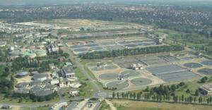 Station d'épuration des eaux d'Achères (78)