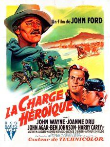 """Affiche du film """"La charge héroïque"""""""