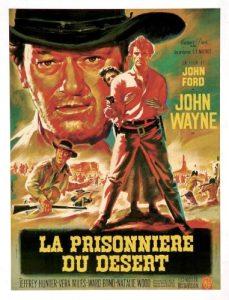 """Affiche du film """"La prisonnière du désert"""""""