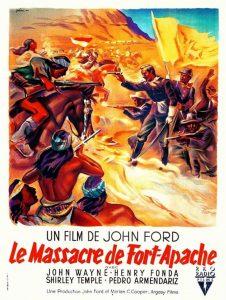"""Affiche du film """"Le massacre de Fort-Apache"""""""