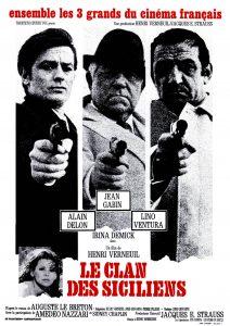 """Affiche du film """"Le clan des siciliens"""""""