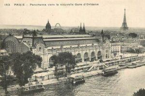 Gare d'Orléans devenue Gare d'Orsay