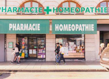 Façade de Pharmacie-Homéopathie