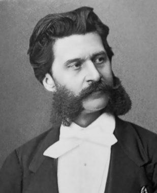 Johann Strauss fils ou Johann Strauss II ou Johann Strauss le jeune