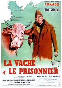 """Affiche du film """"La vache et le prisonnier"""""""