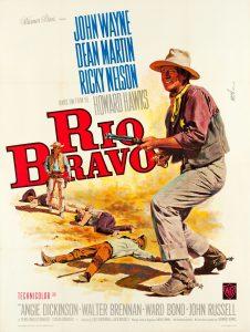 "Affiche du film ""Rio Bravo"""