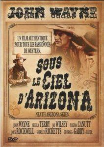 """Jaquette du film """"Sous le ciel d'Arizona""""."""