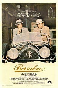 """Affiche du film français """"Borsalino"""" de Jacques Deray (1970)"""