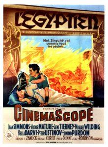 """Affiche du film """"L'égyptien"""""""""""