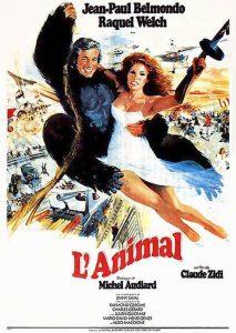 """Affiche du film français """"l'animal"""" de Claude Zidi (1977)"""