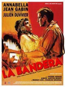 """Affiche du film français """"La bandera"""" de Julien Duvivier (1935)"""