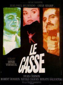"""Affiche du film français """"Le casse"""" de Henri Verneuil (1971)"""