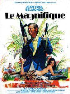 """Affiche du film français """"Le magnifique"""" de Philippe de Broca (1973)"""