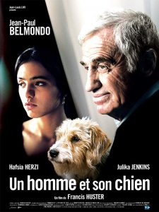 """Affiche du film français """"Un homme et son chien"""" de Francis Huster (2009)"""