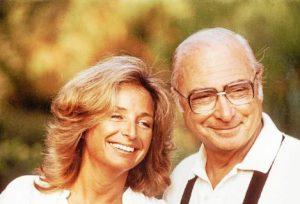 La scénariste et réalisatrice française Danièle Thompson et son père le réalisateur Gérard Oury