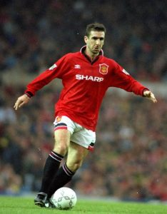Éric Cantona attaquant de Manchester United