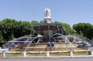 La fontaine de la Rotonde à Aix-en-Provence (13)