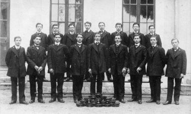 Les husards noirs de la république : la promotion 1908-1911 des élèves-maîtres de l'École normale d'Orléans (45)
