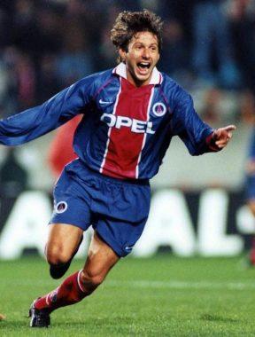 Leonardo joueur au PSG